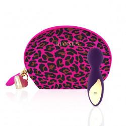 Rianne S Essentials Lovely Leopard Mini Deep Purple