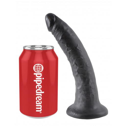 "King Cock 7"" Cock Black"