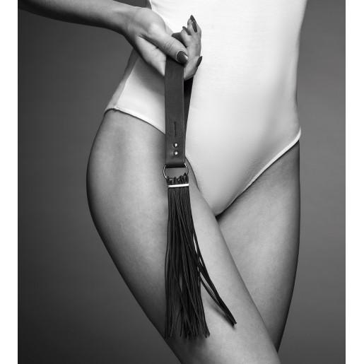 Bijoux Indiscrets - MAZE Tassel Flogger Black