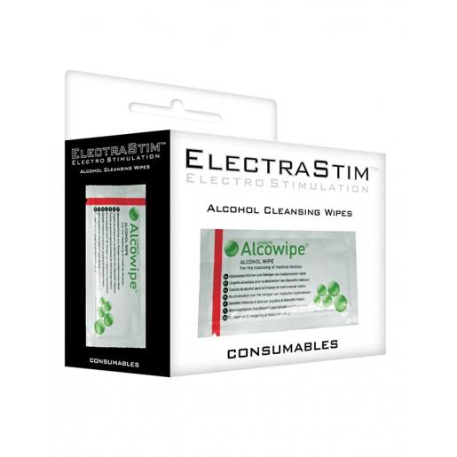 Waciki alkoholowe do sterylizacji sond Electrastim 10 szt