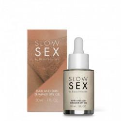 Rozświetlający olejek Slow Sex Hair and Skin Shimmer Dry Oil