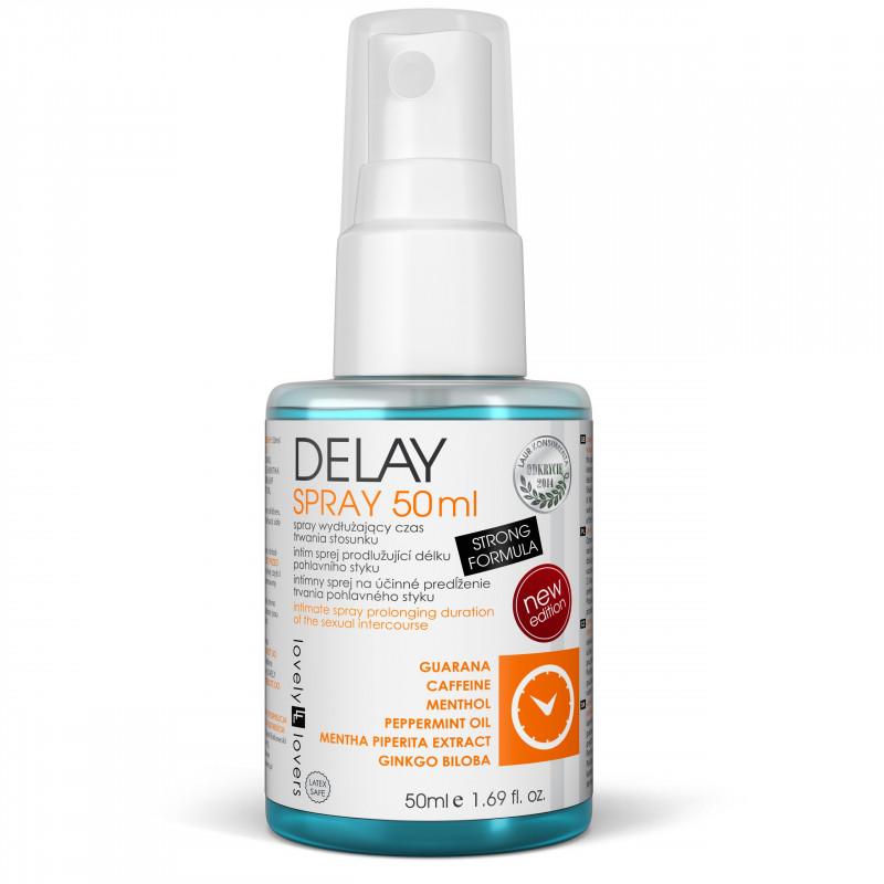 Spray opóźniający wytrysk Lovely Lovers DELAY 50 ml