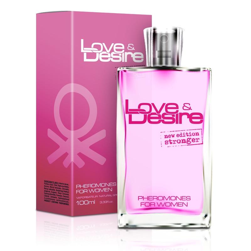 Feromony zapachowe Love&Desire dla kobiet 100ml