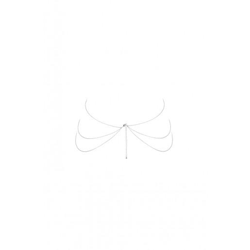 Bijoux Indiscrets - Magnifique 8 Body Chain (srebrny)