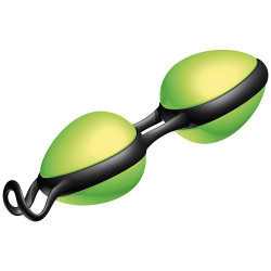 Kulki waginalne Joyballs Secret zielono czarne