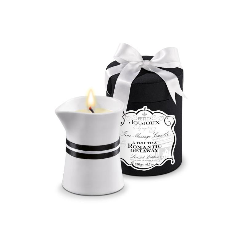 Petits Joujoux zapachowa świeca do masażu - herbatniki imbirowe