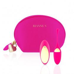 Wibrujące jajko sterowane pilotem Rianne S Essentials Pulsy Playball różowe