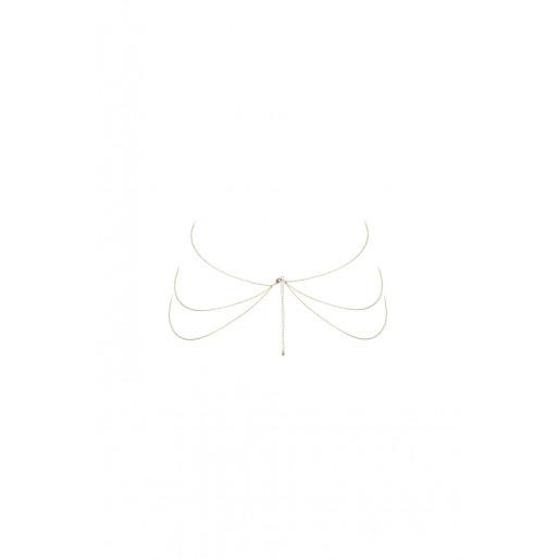 Łańcuszek w kształcie ósemki Bijoux Indiscrets Magnifique złoty
