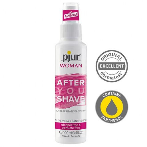 Spray łagodzący po goleniu Pjur Woman After You Shave 100 ml