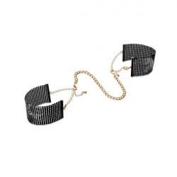 Czarne kajdanki Bijoux Indiscrets Désir Métallique Handcuffs