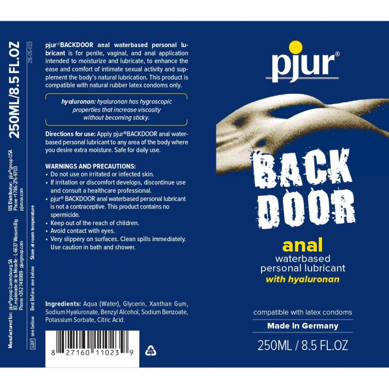 Lubrykant analny na bazie wody pjur Back Door Comfort 250 ml