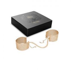 Złote kajdanki Bijoux Indiscrets Désir Métallique Handcuffs