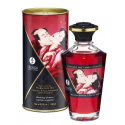 Jadalny olejek do masażu erotycznego wiśniowy Shunga 100 ml