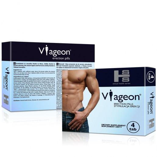 Tabletki na potencję dla mężczyzn Viageon 4 tabletki