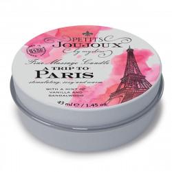 Świeca do masażu Petits Joujoux Paryż - wanilia i drzewo sandałowe