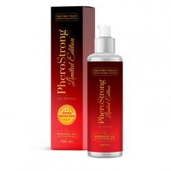 Olejek do masażu z feromonami PheroStrong Limited Edition dla kobiet