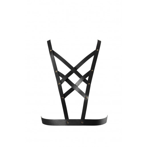 Bijoux Indiscrets - MAZE Net Cleavage Harness Black