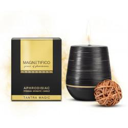 Zapachowa świeca z feromonami MAGNETIFICO drzewo sandałowe