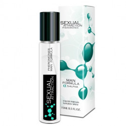 Perfumowane feromony Sexual Attraction Man Formula 15ml