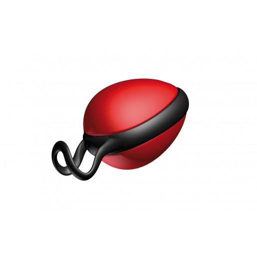 Pojedyncza kulka gejszy Joyballs Secret Single czerwono czarna
