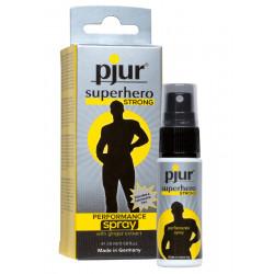 Spray wydłużający stosunek Pjur superhero STRONG PERFORMANCE 20 ml