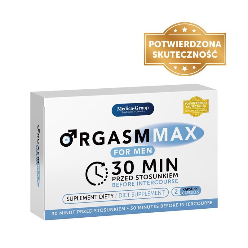 Tabletki na potencję dla mężczyzn Orgasm Max 2 kapsułki