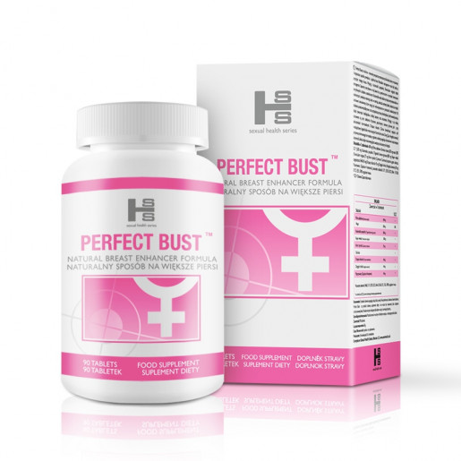 Tabletki powiększające biust Perfect Bust 90 szt.
