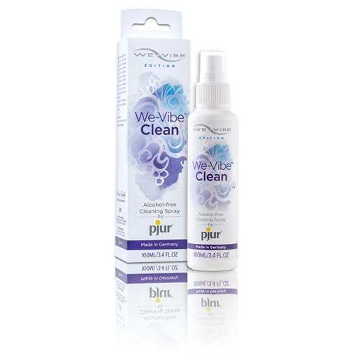 Środek do czyszczenia gadżetów erotycznych pjur - We-Vibe Clean, 100 ml