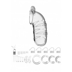 """Model 05 - Chastity - 5.5"""" - Cock Cage - Transparent"""