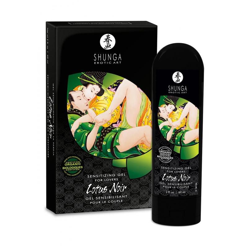 Krem stymulujący Shunga - Lotus Noir Cream dla par 60 ml