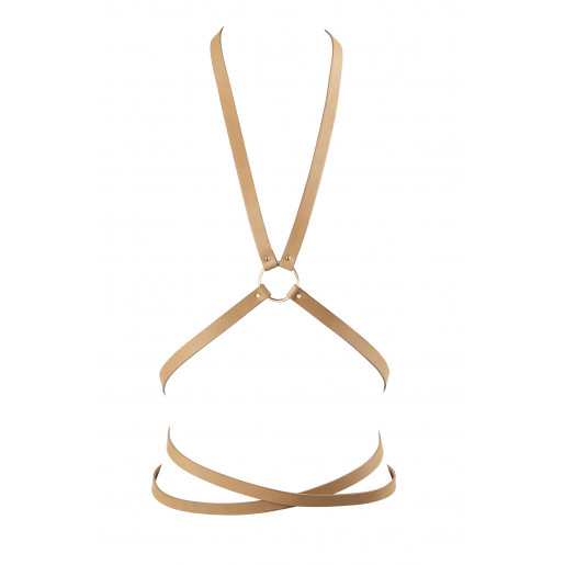 Bijoux Indiscrets - MAZE Multi-way Harness Brown