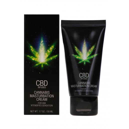 Krem do masturbacji dla mężczyzn Shots CBD Cannabis 50 ml