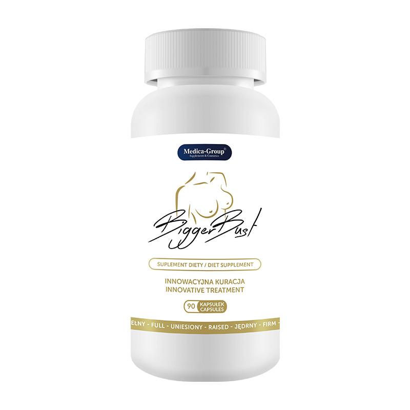 Tabletki powiększające biust BiggerBust 90 szt.