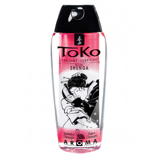 Lubrykant o zapachu truskawki Shunga Toko Lubricant 165 ml