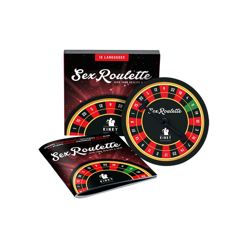 Erotyczna ruletka Tease&Please Sex Roulette Kinky